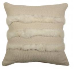 Rabbit Striped Pillow-0