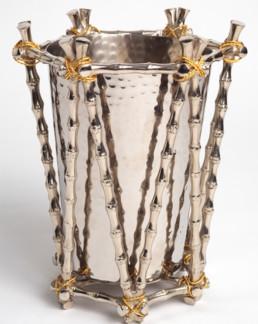 Bamboo Ice Bucket-0