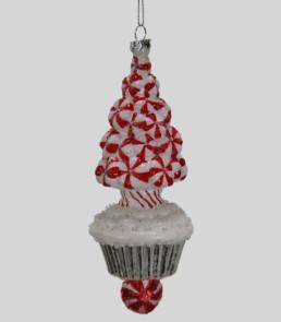 Peppermint Tree Cupcake Ornament-0