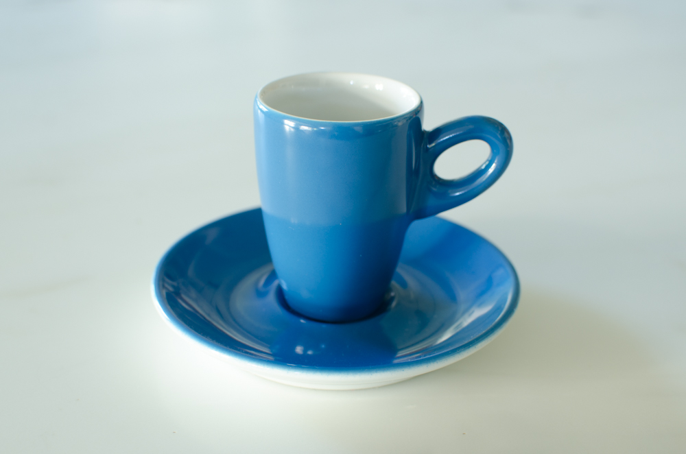 Ocean Blue Espresso Cup And Saucer Room With A Soul